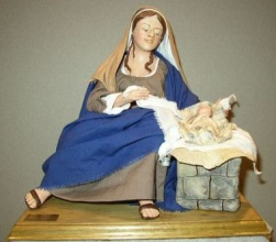 Marie and Jesus 2. Lise Berger. 11.81 Inches